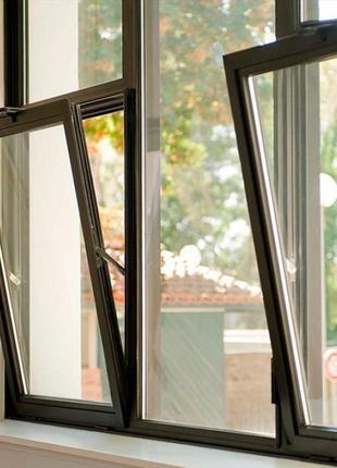 Алюмінієві конструкції / вікна, двері/Алюминиевые конструкции /