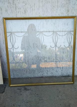 Рама со стеклом для картины, творчества