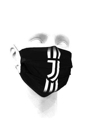 Тканевая маска для лица ФК Ювентус детские и взрослые