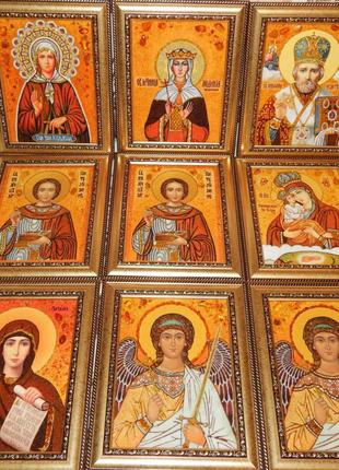 Картины из янтаря(иконы, ікони) КАРТИНИ З БУРШТИНУ, ПОРТРЕТИ