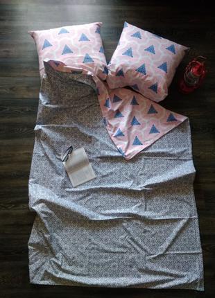 Постельное белье Полуторный комплект Бязь на молнии
