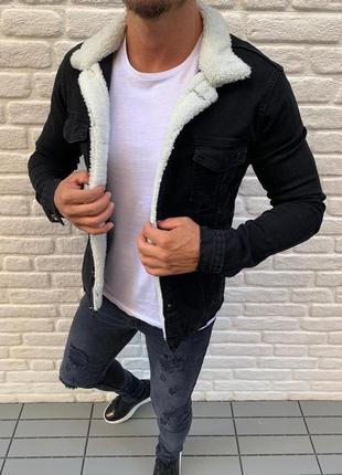 Брендовая джинсовая куртка zara man