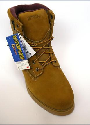 Chippewa 6 gunnison желтые зимние ботинки оригинал thinsulate