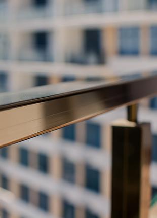 Алюминиевые ограждения со стеклом производство и монтаж