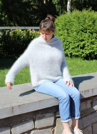 Шикарный свитер оверсайз. кокон