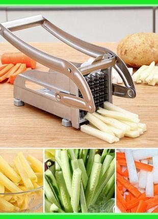 Картофелерезка ручная Potato Chipper Giakoma G-1180 Шинковка Ч...