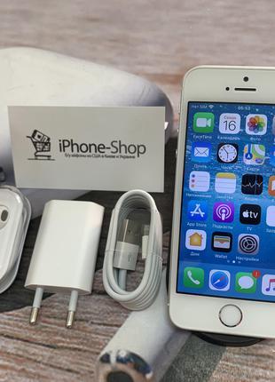 Apple iPhone SE 16gb Silver NEVERLOCK комплект,гарантия.