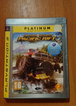 Игра Motor storm Pasific rift PS3