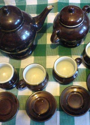 Кофейный сервиз на 6 персон из 14 предметов