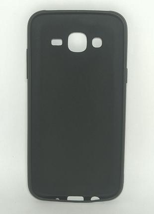 Задня накладка Samsung J5/J500 чорна сілікон