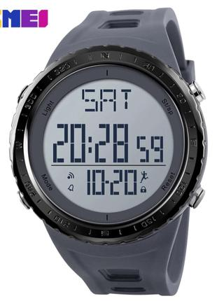 Часы SKMEI 1288 Gray с шагомером