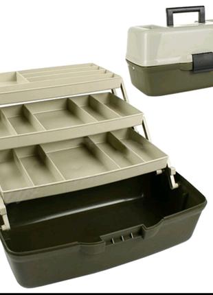 Ящик для снастей трехъярусный