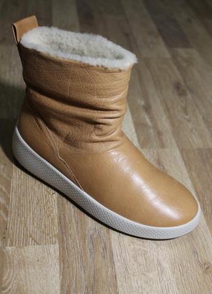 Шикарні чобітки ecco ukiuk  оригінал ботинки сапоги оригинал к...
