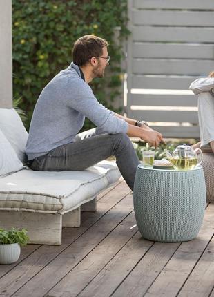 Комплект садовой мебели Keter Urban Knit Set ( Cozy Set )