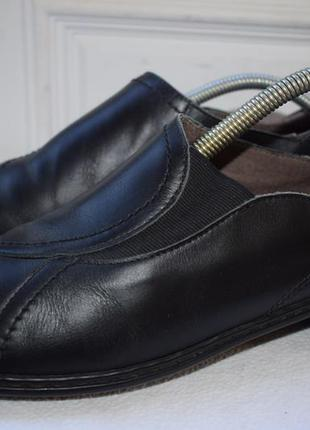 Кожаные туфли мокасины полуботинки слипоны jenny by ara р.42 2...