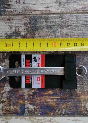 Ключ комбинированный рожково-накидной King Roy рожковый ключ о...