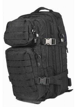 Рюкзак ASSAULT S Mil-Tec Black 14002002, тактический 20 литров...