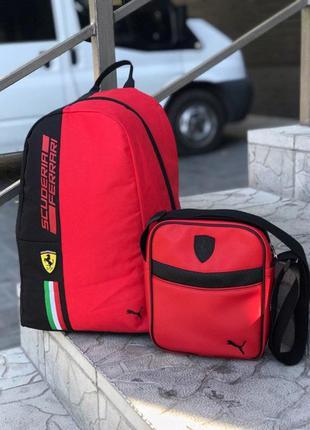 Мужская сумка и рюкзак Puma Ferrari