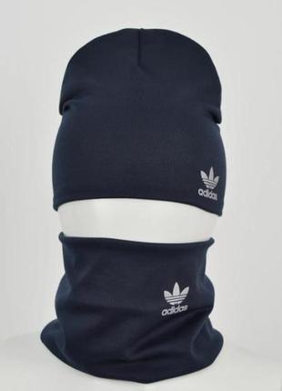 Комплект: шапка и хомут