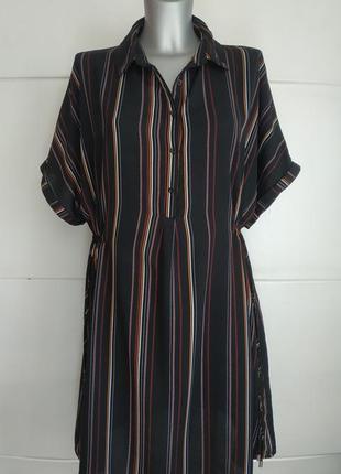 Стильное платье new look оригинальнального рубашечного кроя в ...