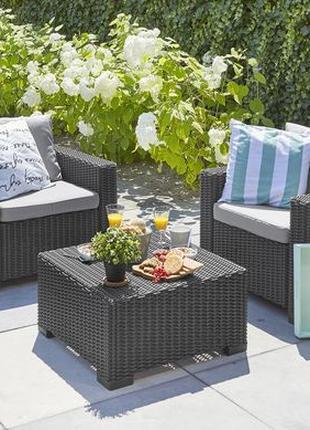 Комплект садовой мебели Allibert California Balcony Lounge Set