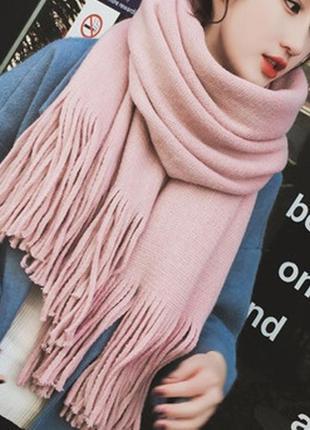 Стильний теплий шарф 780н
