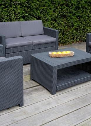 Комплект садовой мебели Allibert Monaco Lounge Set