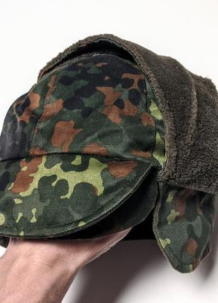Милитари шапка бундес флектарн камуфляжная германии