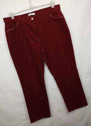 Джинсы брюки новые стильные микро вельвет стрейч marks&spencer...