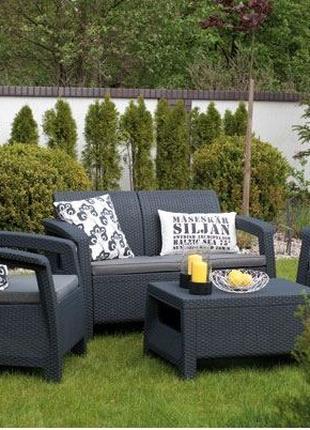 Комплект садовой мебели Curver Corfu Lounge Set