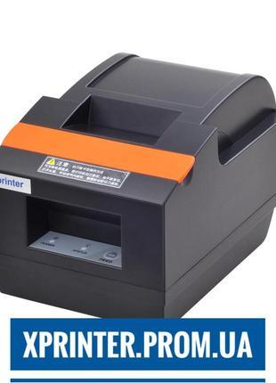 Новые принтеры чеков Xprinter Q90EC, USB с автообрезкой от постав