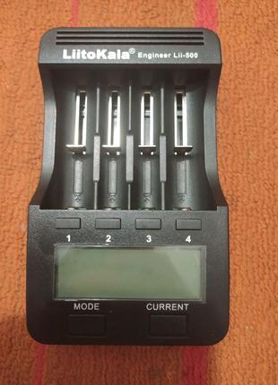 Зарядник для батарей LiitoKala Lii500 без блока питания