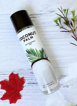 Спрей для тела bath and body works coconut palm