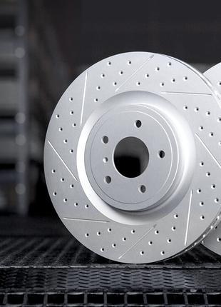 Тормозные диски R1 Concepts на Acura MDX 2007-2020