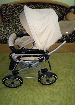 Детская коляска 2в1 (Люлька и прогулочный вариант)
