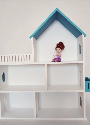 Кукольный домик. Домик для кукол. Развивающие игрушки.