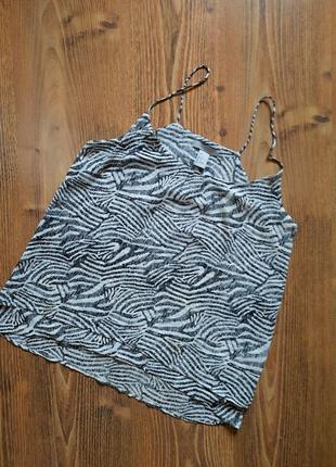 Трендовая легкая блуза/майка от h&m, размер xs-s