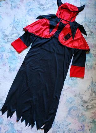 Карнавальный костюм чёрта,черт,чортеня,демон, хеллоуин
