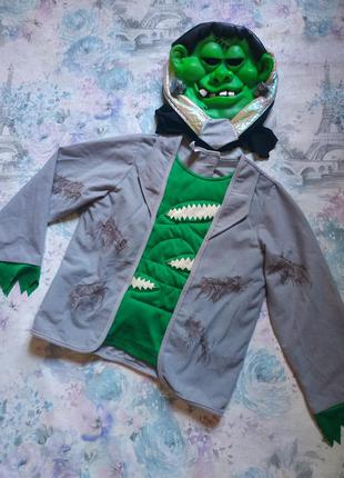 Костюм франкенштейна, карнавальный костюм на хеллоуин,монстр