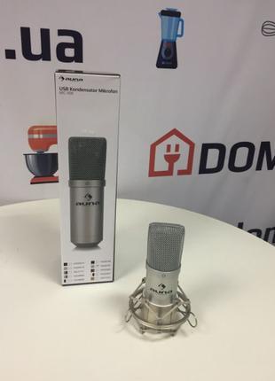 Студийный конденсаторный микрофон Auna MIC-900S-LED