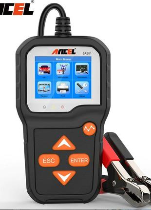Анализатор аккумуляторов автомобилей и мотоциклов 6-12V (тесте...
