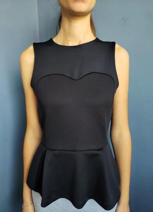 Блуза с баской h&m