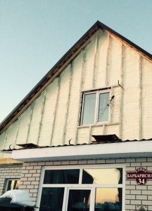 Утепление дома стен потолка пола крыши ппу