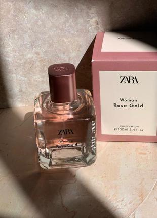 Духи zara rose gold /парфюм /туалетная вода/парфуми/духи зара