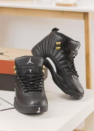 Nike air jordan 11 low black/yellow мужские кожаные кроссовки  😍