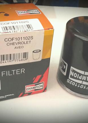 Фильтр масляный Lanos,Nexia,Lacetti CH COF101102S