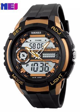 Часы SKMEI 1202 Black_Gold