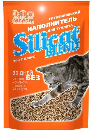 Наполнитель для кошачьего туалета Silicat Blend