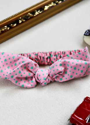 Детские повязки на голову для девочек