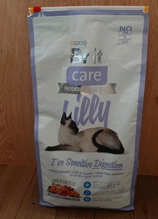 Корм для котов Brit Care Lilly с ягнёнком и лососем
